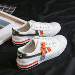 JSS7104-white Sepatu Sneakers Wanita Keren Import Terbaru