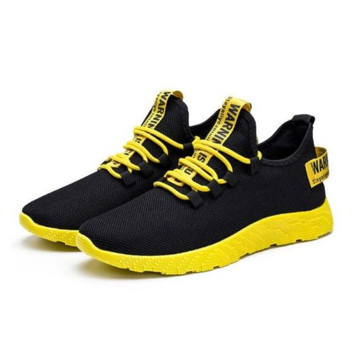 JSS771-yellow Sepatu Sneakers Pria Modis Terbaru Import