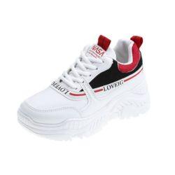 JSS8062-black Sepatu Sneakers Wanita Cantik Import Terbaru