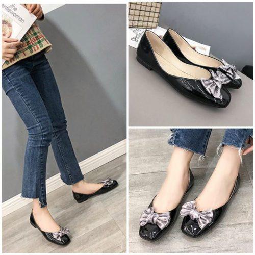 JSS8908-black Sepatu Heels Fashion Modis Wanita Cantik