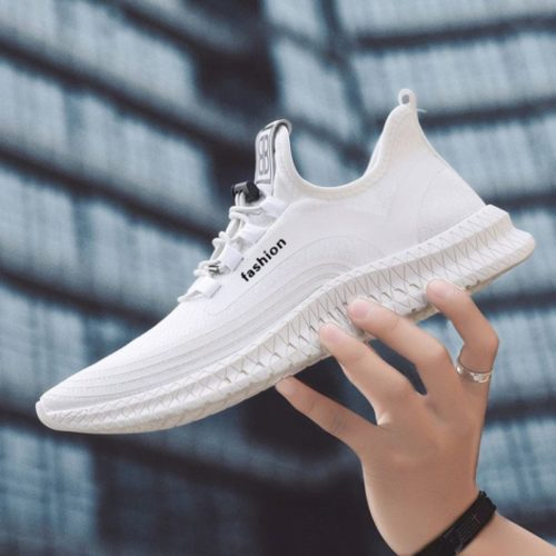 JSS910-white Sepatu Sneakers Fashion Pria Modis Terbaru