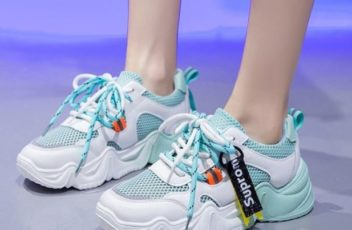 JSS9905-green Sepatu Sport Fashion Import Wanita Cantik