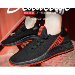 JSSA1-black Sepatu Sneakers Pria Sporty Terbaru