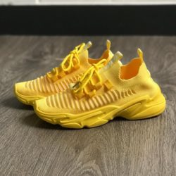 JSSB100-yellow Sepatu Sneakers Wanita Cantik Fashion Import