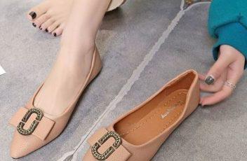 JSSB189-pink Sandal Import Cantik Wanita Elegan