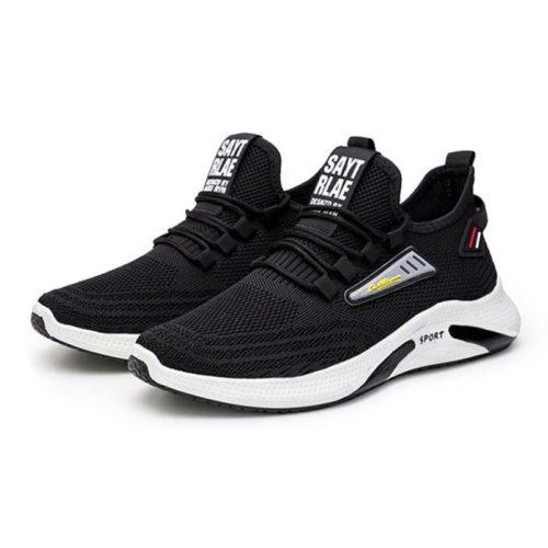 JSSC26-black Sepatu Sneakers Sport Fashion Pria Modis