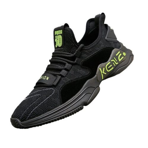 JSSD60-black Sepatu Sneakers Pria Keren Import Terbaru