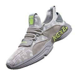 JSSD60-gray Sepatu Sneakers Pria Keren Import Terbaru