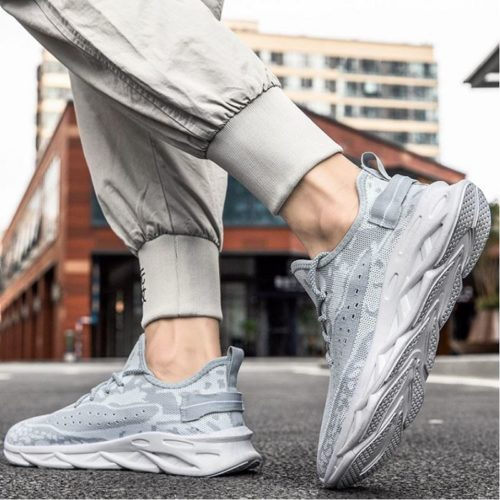 JSSDF1-white Sepatu Sneakers Pria Modis Import