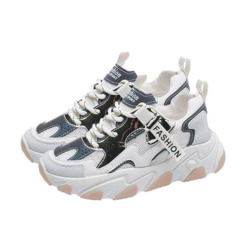 JSSE209-white Sepatu Sneakers Sport Wanita Glow in the Dark