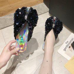 JSSF3-green Sandal Comfy Import Wanita Cantik