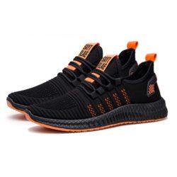 JSSG1-orange Sepatu Sport Olah Raga Pria Import Terbaru