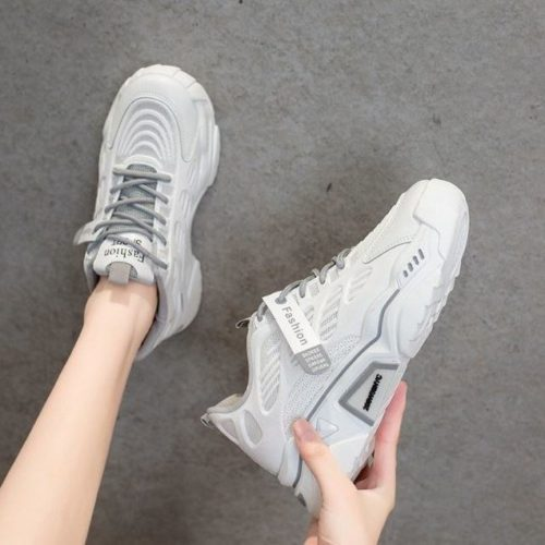 JSSJ3-gray Sepatu Sneaker Wanita Cantik Import