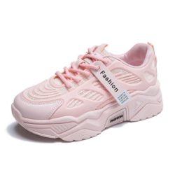 JSSJ3-pink Sepatu Sneakers Wanita Cantik Fashion Import