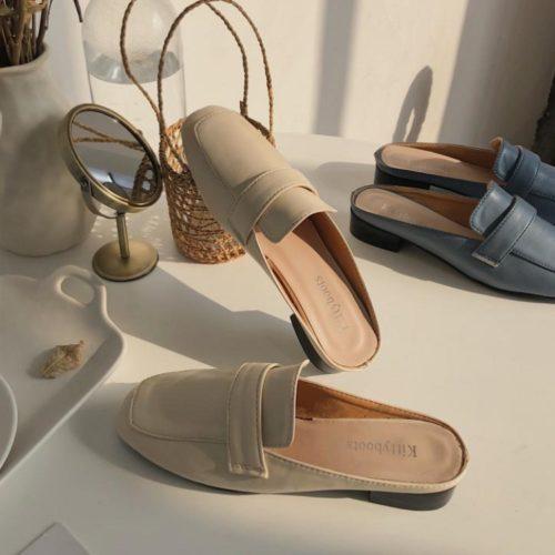 JSSK22-beige Sandal Wanita Cantik Import Terbaru