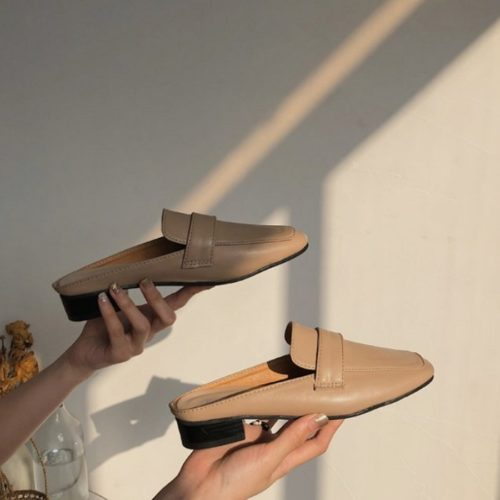 JSSK22-khaki Sandal Wanita Cantik Import Terbaru