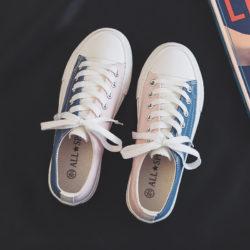 JSSKB10-pink Sepatu Sneakers Canvas Wanita Cantik Import
