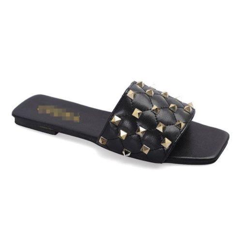 JSSM222-black Sandal Comfy Wanita Cantik Import Terbaru