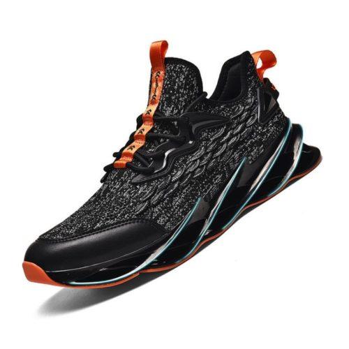 JSST088-gray Sepatu Sneakers Pria Keren Import Terbaru