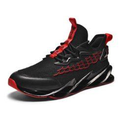JSST088-red Sepatu Sneakers Pria Keren Import Terbaru