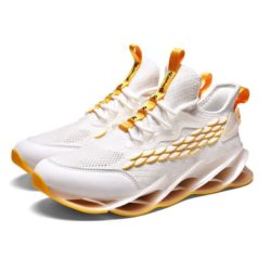 JSST088-white Sepatu Sneakers Pria Keren Import Terbaru