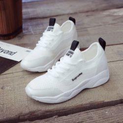 JSSW3-white Sepatu Sneakers Wanita Cantik Import Terbaru