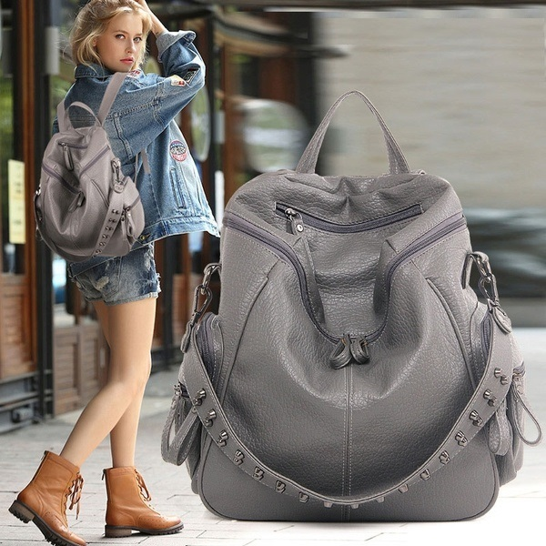 JT0008 IDR.165.000 MATERIAL PU SIZE L31XH33XW12CM WEIGHT 650GR COLOR GRAY