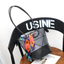 JT001-black Tas Selempang Geometric bisa 4 Style ( Bercahaya