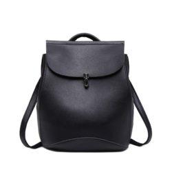 JT00101-black Tas Ransel Wanita Stylish Kekinian Import