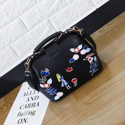 JT0012-black Tas Doctor Bag Import Wanita Cantik