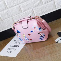 JT0012-pink Tas Doctor Bag Import Wanita Cantik