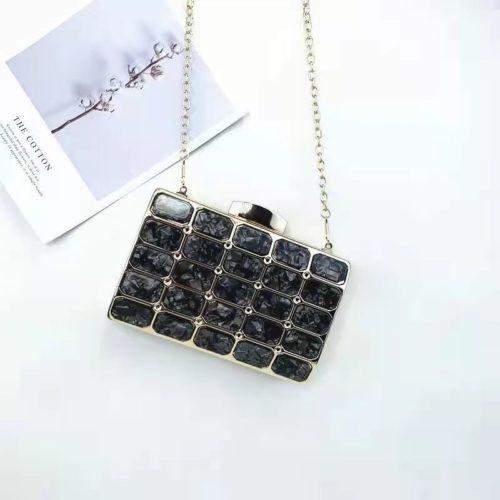 JT00121-black Tas Pesta Import Wanita Elegan Terbaru