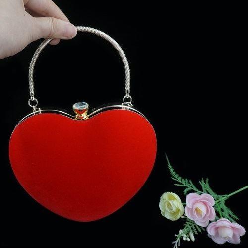 JT0022-red Tas Pesta LOVE Elegan Import
