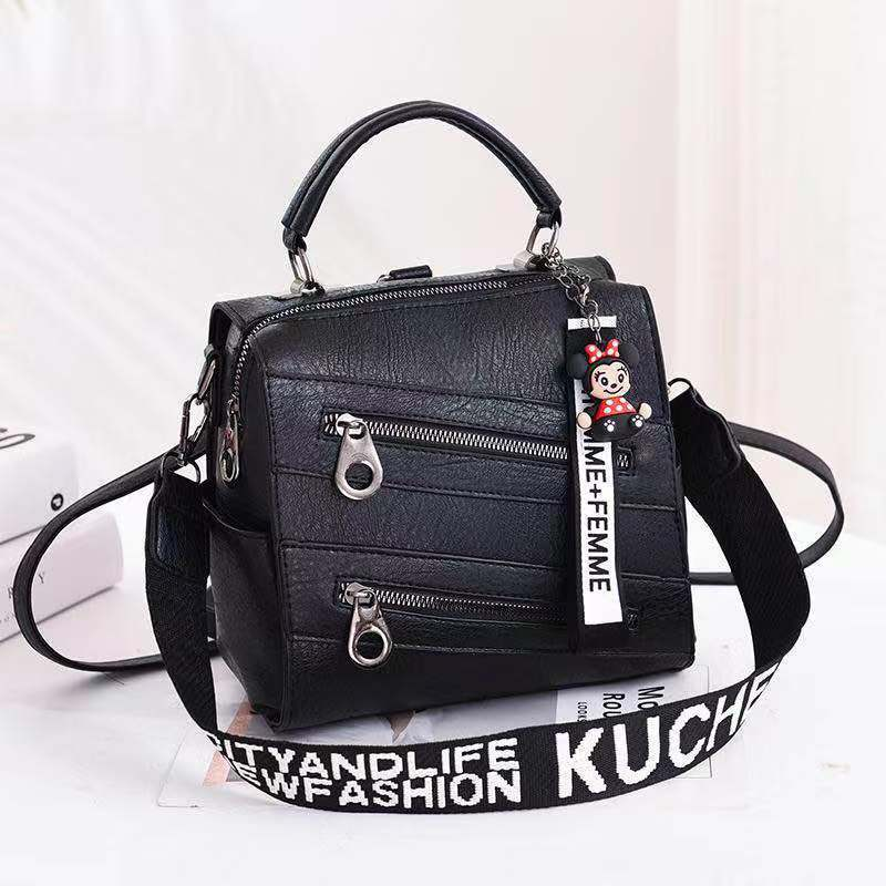 JT003 IDR.162.000 MATERIAL PU SIZE L21XH20XW13CM WEIGHT 750GR COLOR BLACK