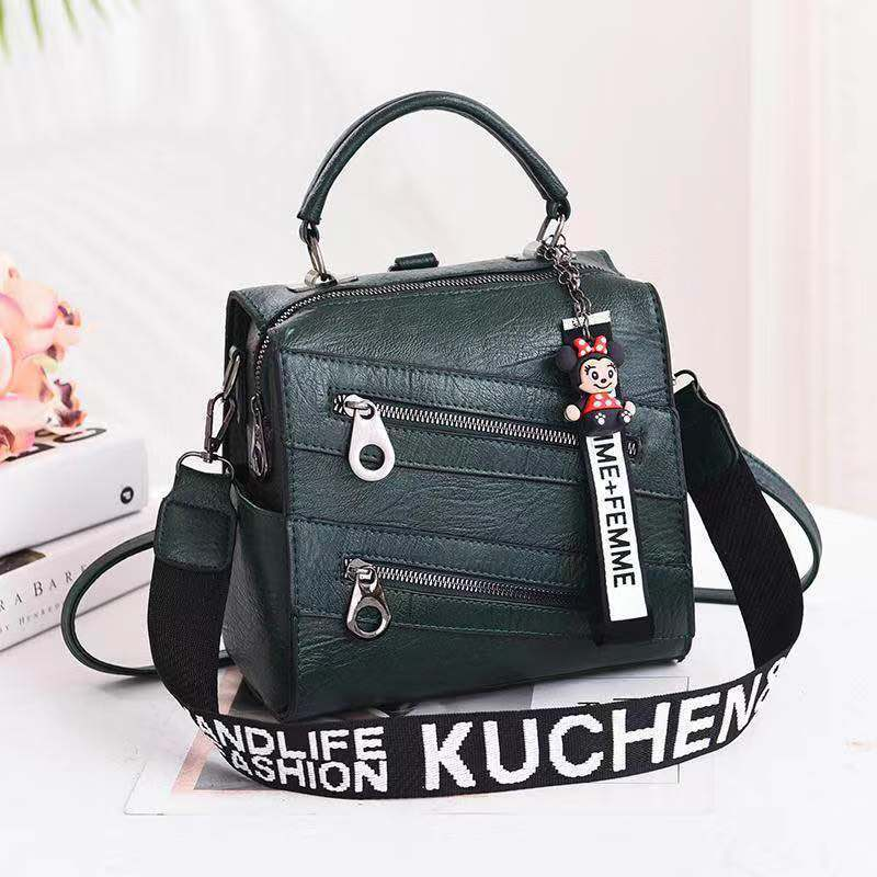 JT003 IDR.162.000 MATERIAL PU SIZE L21XH20XW13CM WEIGHT 750GR COLOR GREEN