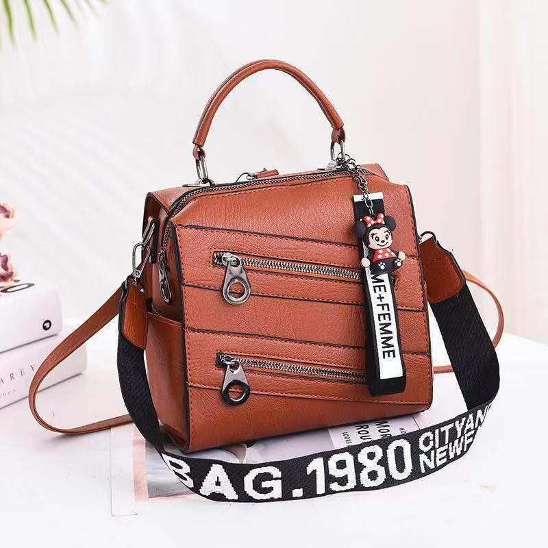 JT003 IDR.172.000 MATERIAL PU SIZE L21XH20XW13CM WEIGHT 750GR COLOR LIGHTBROWN