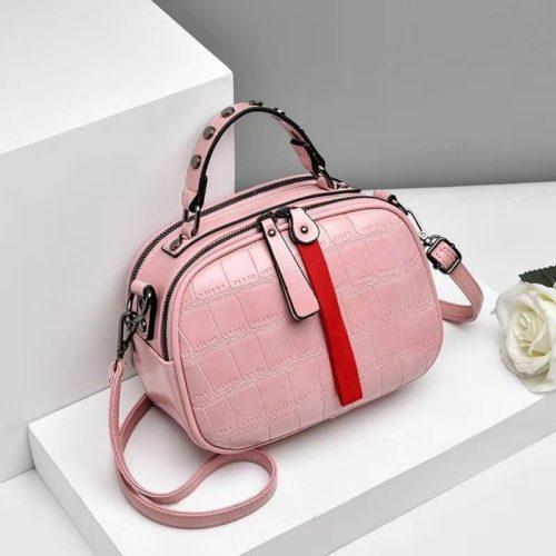 JT0030-pink Tas Selempang Kekinian Wanita Cantik Import