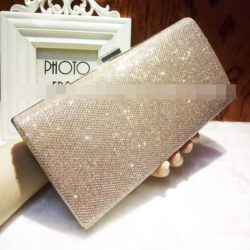 JT0035-gold Clutch Bag Pesta Cantik Elegan Import