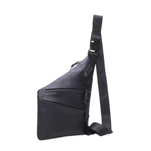 JT0037-black Tas Selempang Pria Keren Bahan Kuat Import