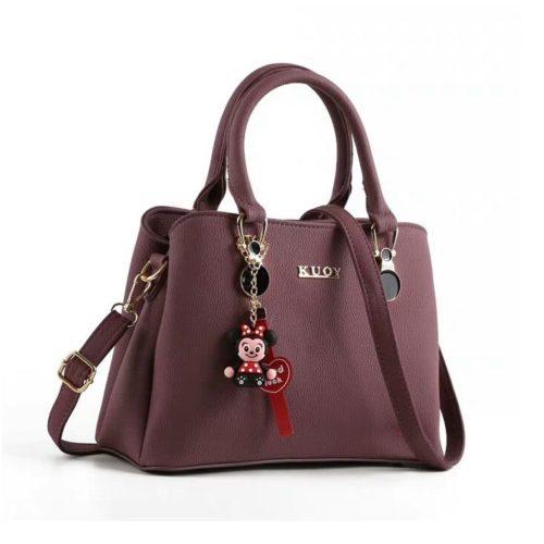 JT0066-purple Tas Selempang Wanita Cantik Elegan Import