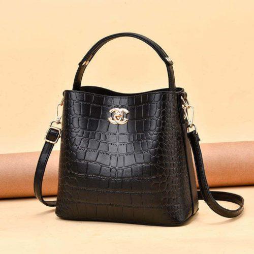 JT00819-black Tas Selempang Wanita Cantik Import Terbaru
