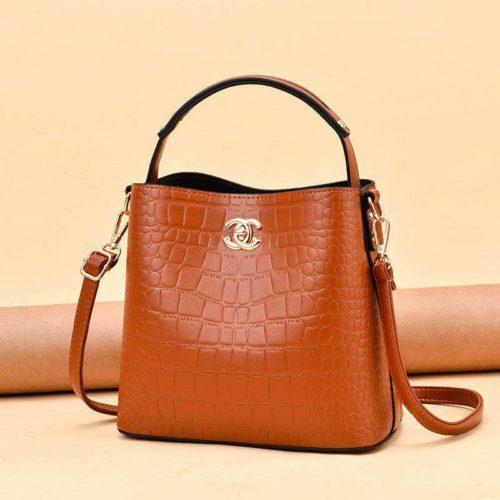 JT00819-brown Tas Selempang Wanita Cantik Import Terbaru