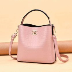 JT00819-pink Tas Selempang Wanita Cantik Import Terbaru