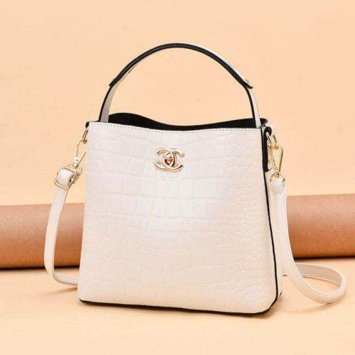 JT00819-white Tas Selempang Wanita Cantik Import Terbaru