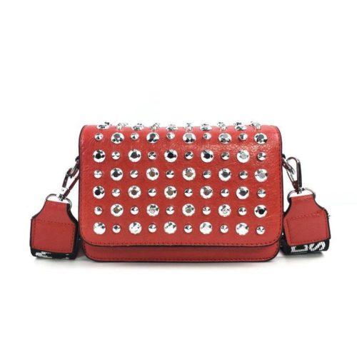 JT00848-red Tas Selempang Fashion Kekinian Import