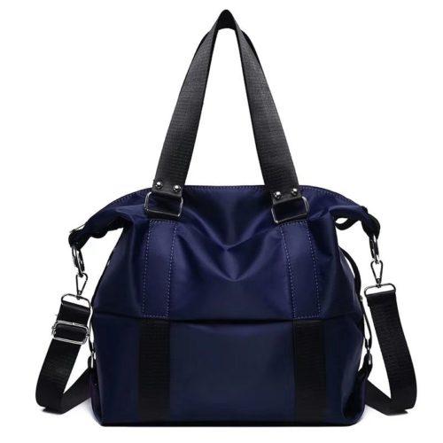 JT0089-blue Tas Shoulder Bag Mommy Serbaguna Import Terbaru