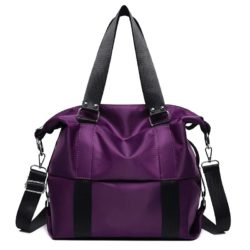 JT0089-purple Tas Shoulder Bag Mommy Serbaguna Import Terbaru