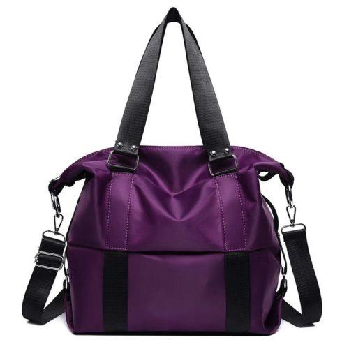 JT0089-purple Tas Shoulder Bag Mommy Serbaguna Import Terbaru