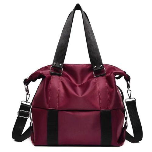 JT0089-red Tas Shoulder Bag Mommy Serbaguna Import Terbaru