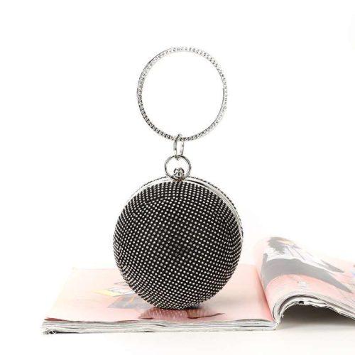 JT0091-black Tas Pesta Elegan Mewah Terbaru (Dengan Kotak)